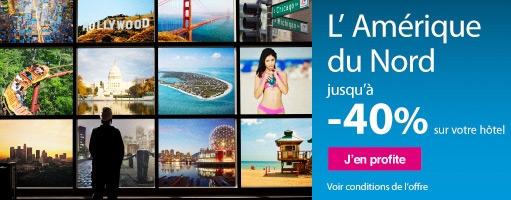 Promos sur Séjours et voyages en Amérique du Nord - EBOOKERS.fr