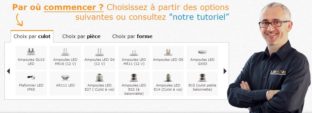 LEDHUT_Moteur_de_recherche_ampoules_LED_Wheecard_Cashback